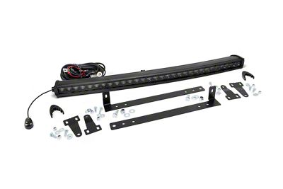Rough Country 30 in. Black Series LED Light Bar Grille Kit - 1 Light (13-14 F-150, Excluding Raptor)