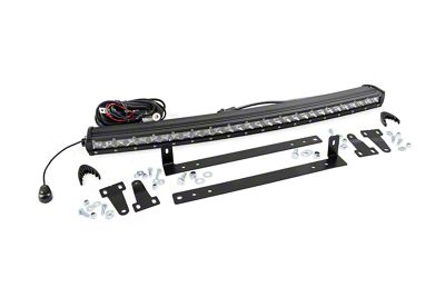 Rough Country 30 in. Chrome Series LED Light Bar Grille Kit - 2 Light (13-14 F-150, Excluding Raptor)
