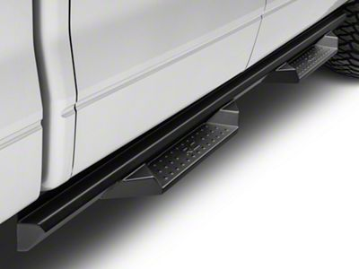 Rough Country Cab Length DS2 Drop Side Step Bars (09-14 F-150 SuperCrew)