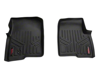 Rough Country Heavy Duty Front Floor Mats - Black (04-08 F-150)