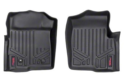 Rough Country Heavy Duty Front Floor Mats - Black (09-14 F-150)