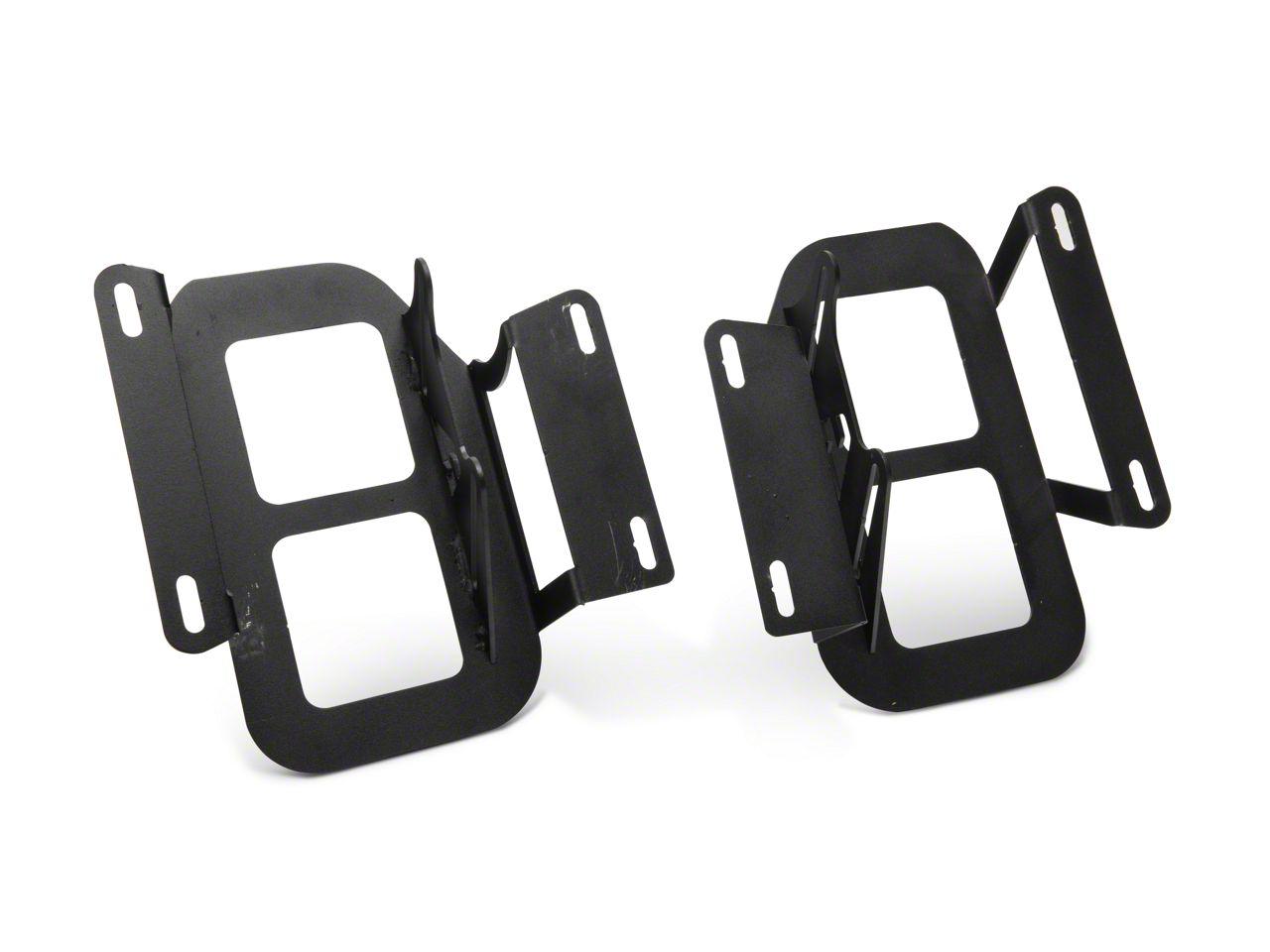 LED Cube Fog Light Mounting Brackets (15-17 F-150, Excluding Raptor)
