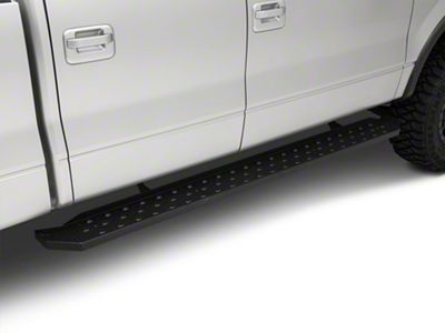 Aries Automotive 6.5 in. Ridgestep Running Boards - Textured Black (04-14 F-150 SuperCrew)