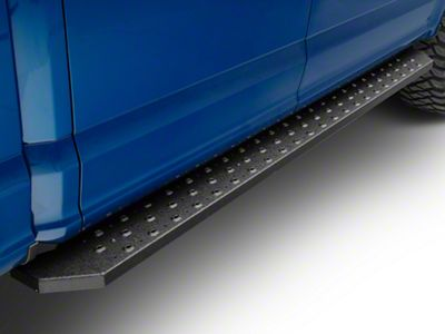 Aries Automotive 6.5 in. Ridgestep Running Boards - Textured Black (15-19 F-150 SuperCrew)