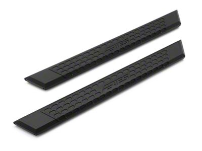 Aries Automotive 5.5 in. AdvantEDGE Side Step Bars - Carbide Black (15-19 F-150 Regular Cab)