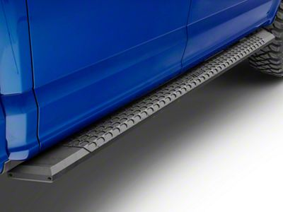 Aries Automotive 5.5 in. AdvantEDGE Side Step Bars - Carbide Black (15-19 F-150 SuperCrew)