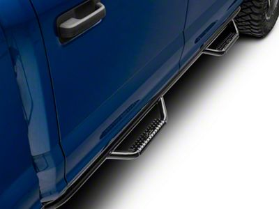 N-Fab Cab Length Nerf Side Step Bars - Gloss Black (15-19 F-150 SuperCrew)