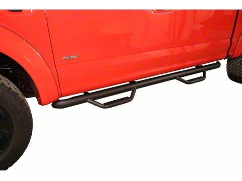 N-Fab Cab Length Nerf Side Step Bars - Textured Black (15-19 F-150 SuperCab, Excluding Raptor)