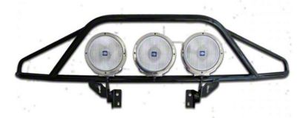 N-Fab PreRunner Light Mount Bar - Gloss Black (15-17 F-150, Excluding Raptor)