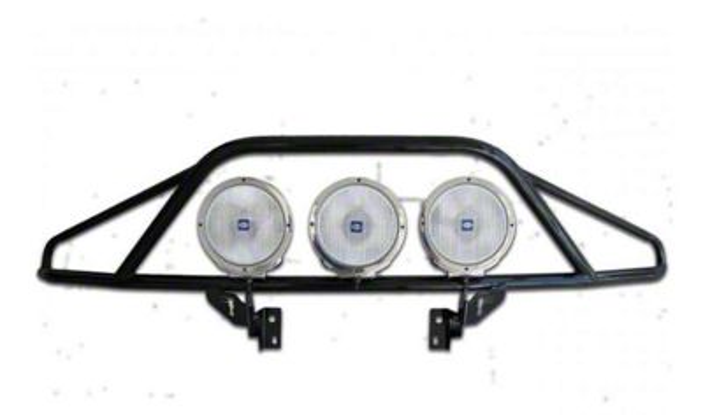 N-Fab PreRunner Light Mount Bar - Textured Black (15-17 F-150, Excluding Raptor)