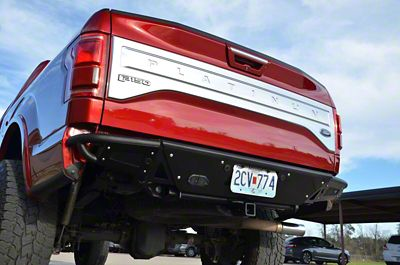 N-Fab RB-H Rear Bumper - Gloss Black (15-19 F-150, Excluding Raptor)