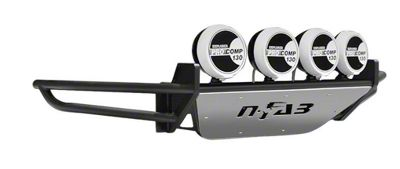 N-Fab RSP Front Bumper w/ Multi-Mounted for LED Lights - Gloss Black (04-08 F-150)