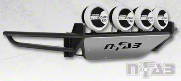 N-Fab RSP Front Bumper w/ Multi-Mounted for LED Lights - Textured Black (09-14 F-150, Excluding Raptor)