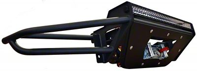 N-Fab RSP Winch Front Bumper - Gloss Black (09-14 F-150, Excluding Raptor)
