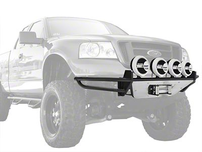 N-Fab RSP Winch Front Bumper w/ Multi-Mounted for LED Lights - Gloss Black (09-14 F-150, Excluding Raptor)