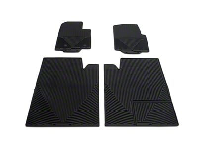 Weathertech All Weather Front & Rear Rubber Floor Mats - Black (11-14 F-150 SuperCrew)
