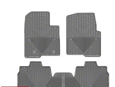 Weathertech All Weather Front & Rear Rubber Floor Mats - Gray (11-14 F-150 SuperCab)