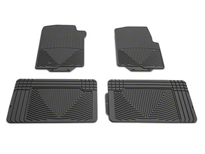 Weathertech All Weather Front & Rear Rubber Floor Mats - Gray (04-08 F-150 SuperCab, SuperCrew)
