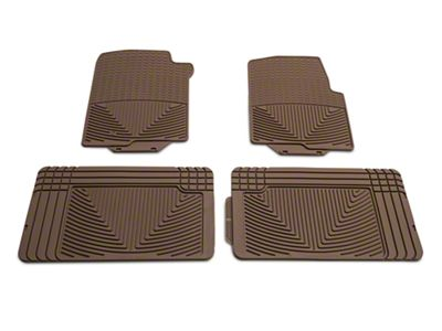 Weathertech All Weather Front & Rear Rubber Floor Mats - Tan (04-08 F-150 SuperCab, SuperCrew)