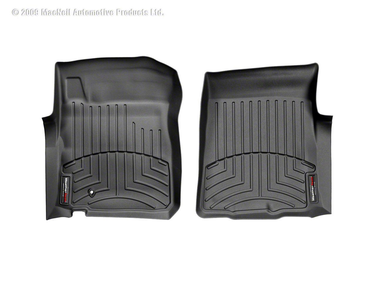 Weathertech DigitalFit Front & Rear Floor Liners - Black (00-03 F-150 SuperCab)