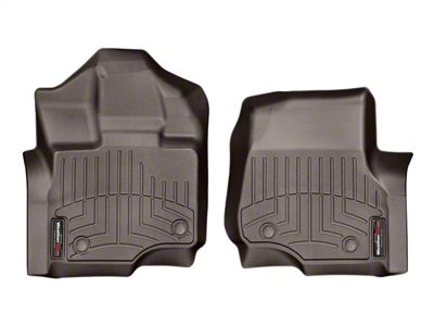 Weathertech DigitalFit Front & Rear Floor Liners - Cocoa (15-19 F-150 SuperCab)