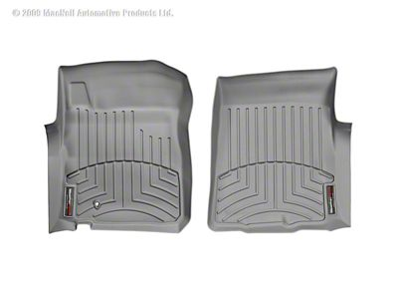 Weathertech DigitalFit Front & Rear Floor Liners - Gray (00-03 F-150 SuperCab)