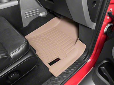Weathertech DigitalFit Front & Rear Floor Liners - Tan (04-08 F-150 SuperCab)