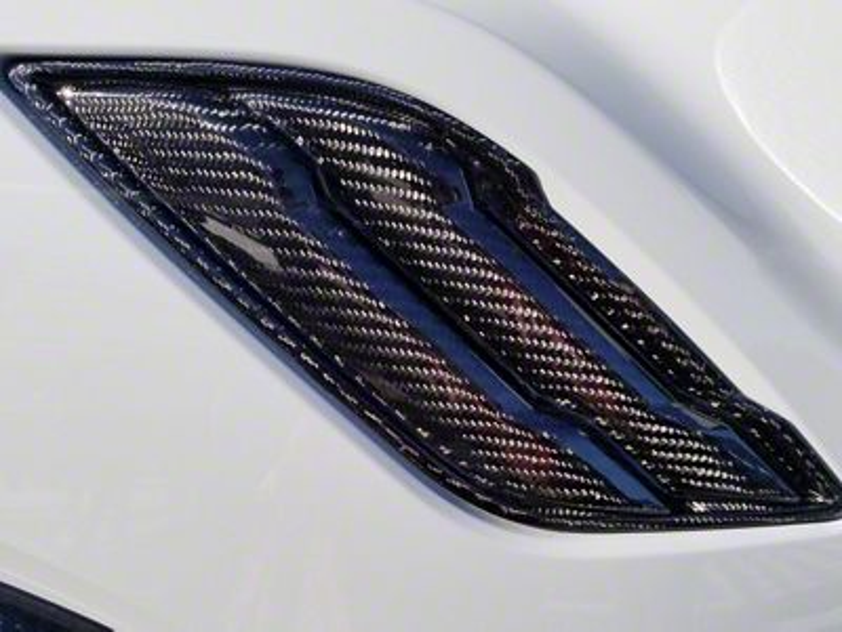 Icon Composites TrueFit F-22 OEM Fender Vents - Carbon Fiber (17-19 F-150 Raptor)