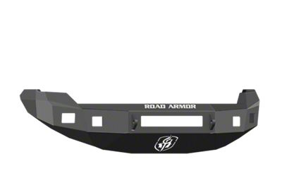 Road Armor Stealth Non-Winch Front Bumper w/ Square Light Mounts - Satin Black (09-14 F-150, Excluding Raptor)