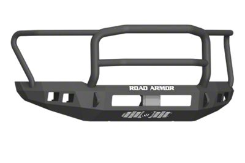 Road Armor Stealth Front Bumper w/ Lonestar Guard - Satin Black (17-19 F-150 Raptor)