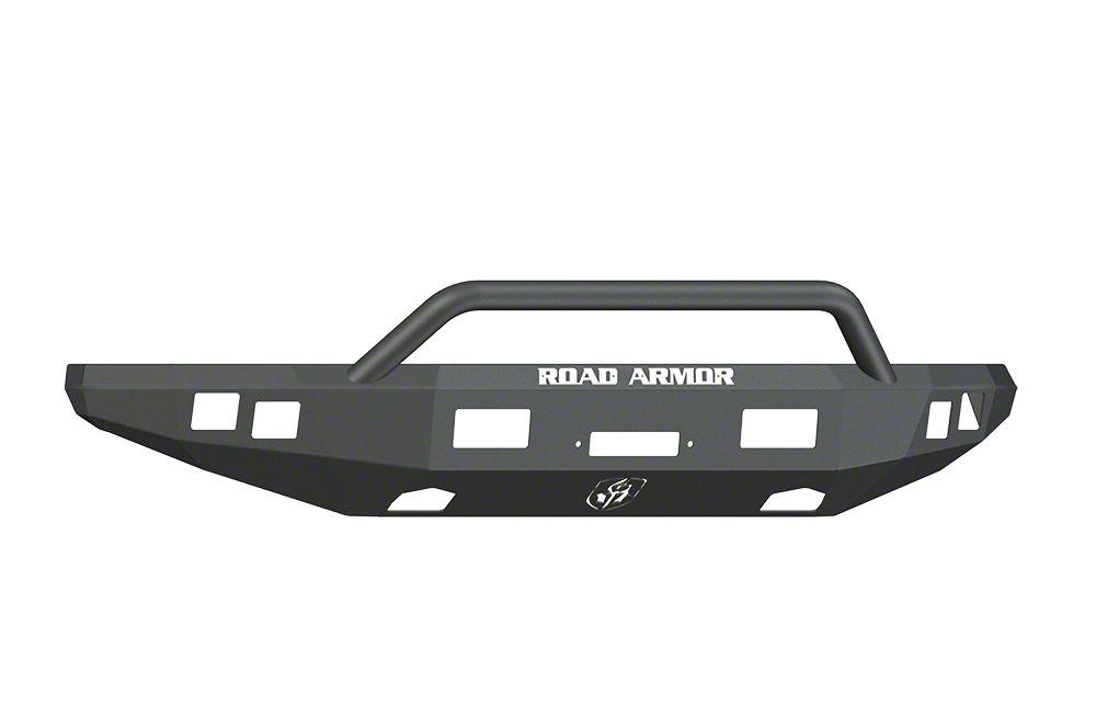 Road Armor Stealth Winch Front Bumper w/ Pre-Runner Guard - Satin Black (10-14 F-150 Raptor)