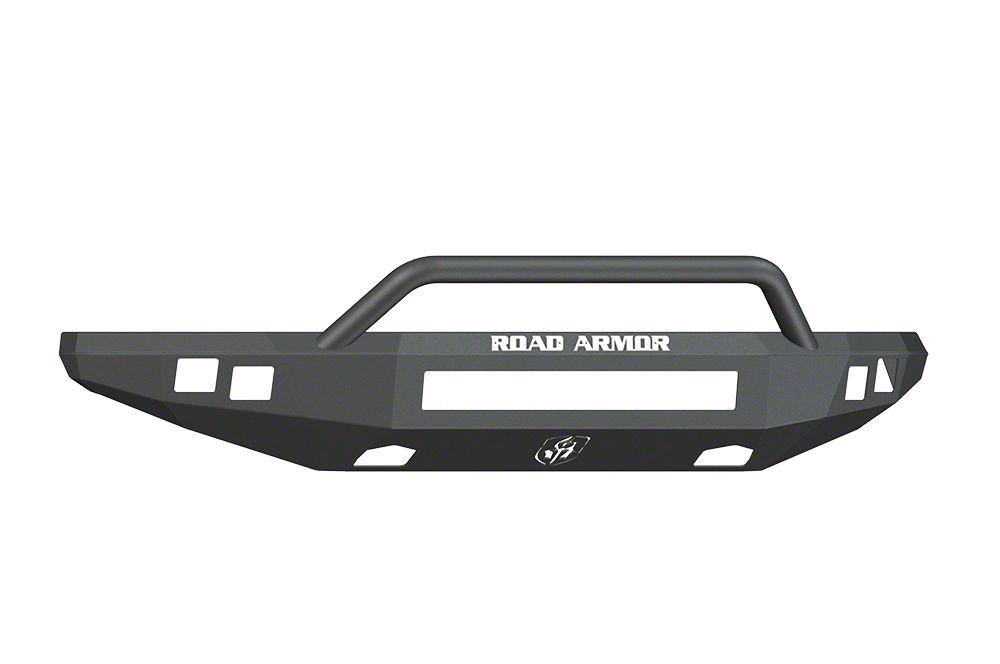 Road Armor Stealth Non-Winch Front Bumper w/ Pre-Runner Guard - Satin Black (10-14 F-150 Raptor)