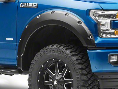 Duratrek Pocket Style Fender Flares (15-17 F-150, Excluding Raptor)
