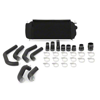 Mishimoto Black Performance Intercooler Kit w/ Black Piping (15-19 2.7L EcoBoost F-150)