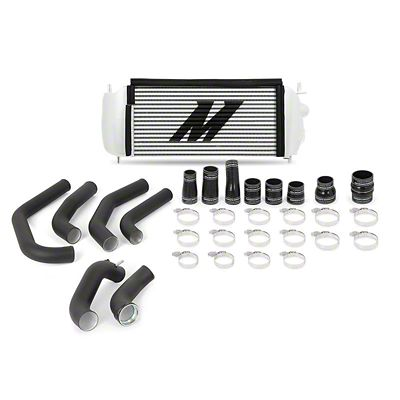 Mishimoto Silver Performance Intercooler Kit w/ Black Piping (15-19 2.7L EcoBoost F-150)
