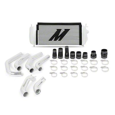 Mishimoto Silver Performance Intercooler Kit w/ Polished Piping (15-19 2.7L EcoBoost F-150)
