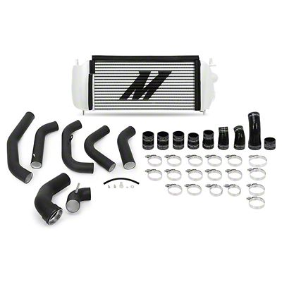 Mishimoto Silver Performance Intercooler Kit w/ Black Piping (15-16 3.5L EcoBoost F-150)