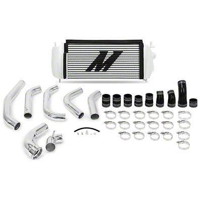 Mishimoto Silver Performance Intercooler Kit w/ Polished Piping (15-16 3.5L EcoBoost F-150)