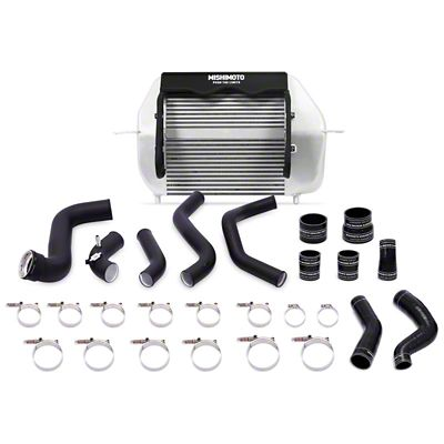 Mishimoto Silver Performance Intercooler Kit w/ Black Piping (11-14 3.5L EcoBoost F-150)