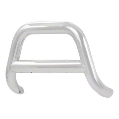Luverne 4 in. Oval Bull Bar - Polished Stainless (15-19 F-150, Excluding Raptor)