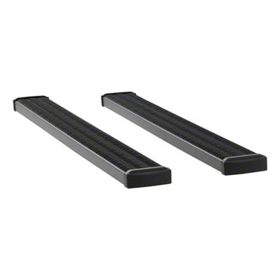 Luverne Grip Step 7 in. Running Boards - Textured Black (04-14 F-150 SuperCab)