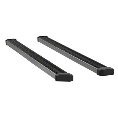 Luverne SlimGrip 5 in. Running Boards - Textured Black (04-14 F-150 SuperCab)