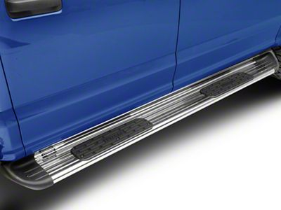 Luverne Stainless Side Entry Running Boards - Polished (15-19 F-150 SuperCrew)