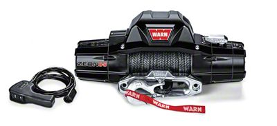 WARN ZEON 8-S 8,000 lb. Winch w/ Synthetic Rope