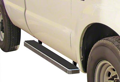 5 in. iStep Running Boards - Hairline Silver (97-03 F-150 Regular Cab)