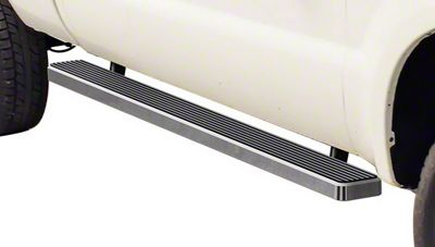 5 in. iStep Running Boards - Hairline Silver (99-03 F-150 SuperCab)