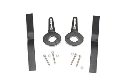 Rough Country Adjustable LED Light Mounting Clamps for 1-1.5 in. Tubing