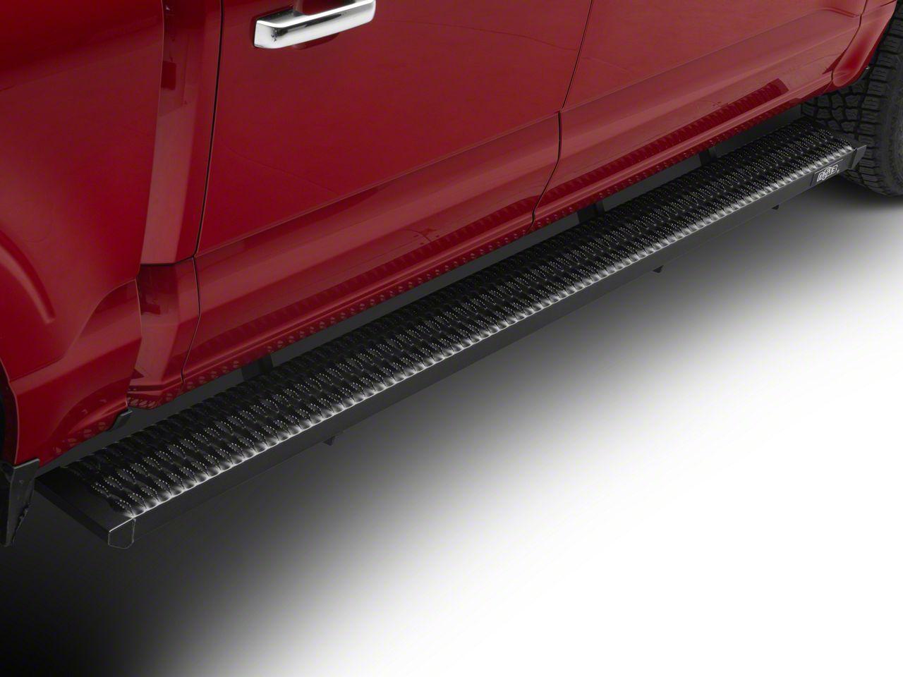 N-Fab Growler Fleet Sure Grip Running Boards - Textured Black (15-19 F-150 SuperCrew)
