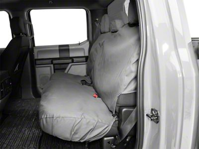Husky Heavy Duty 2nd Row Seat Cover - Charcoal (15-19 F-150 SuperCrew)