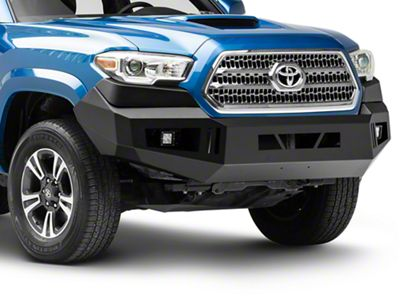 RedRock 4x4 HD Front Bumper w/ LED Fog Lights (16-19 Tacoma)